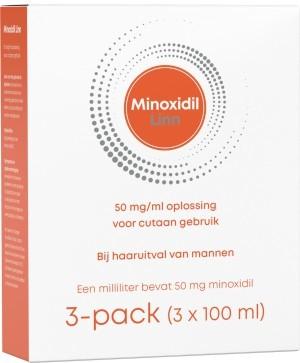 Linn Minoxidil 5% 3-pack (3x100ml) -